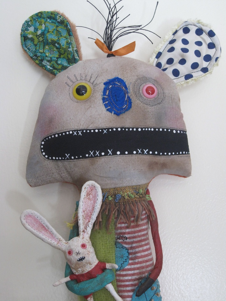 Zombie Bunny, I love you! - fits right in where the Wild Things are!