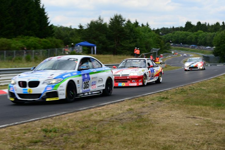 24-h-Race Nürburgring 2014 - Opel Manta hunts a BMW