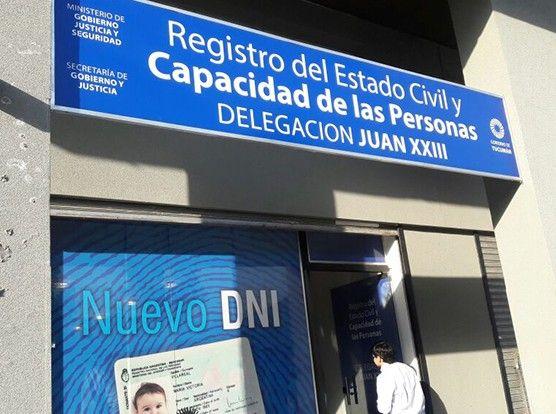 El Registro Civil atenderá el fin de semana de las PASO