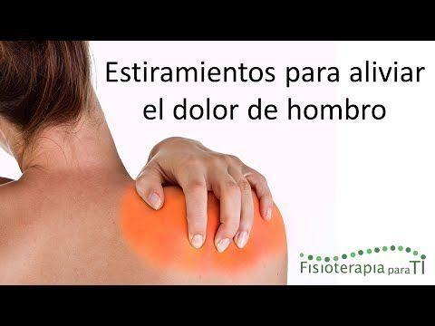 Tendinitis y dolor de hombro. Tratamiento con ejercicios, auto- masajes y estiramientos - YouTube