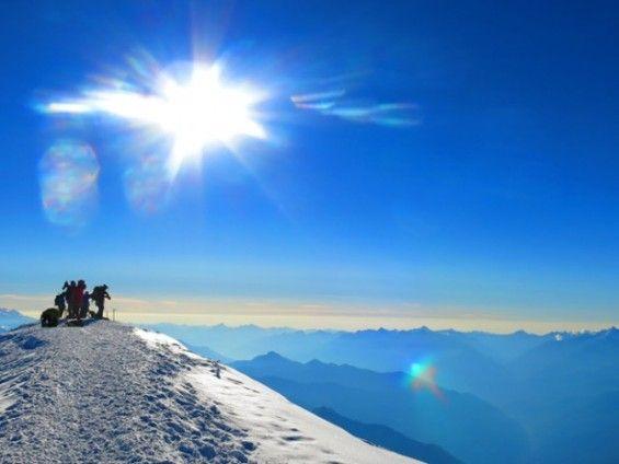 Ascension du Mont-Blanc par les 3 Monts