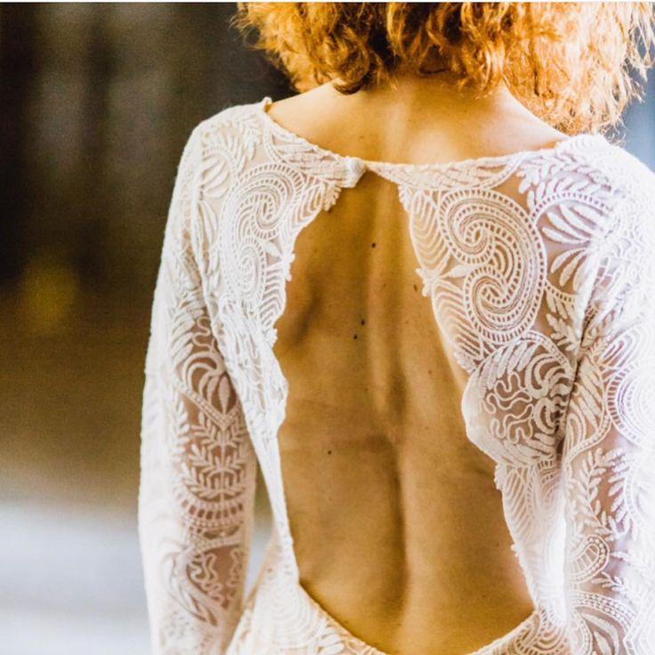 The back of our Graça dress through the lena of @instantefotografia GOTTA LOVE THIS! ❤