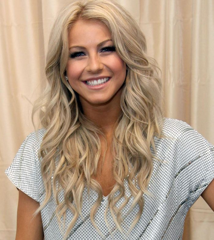 Julianne Hough......I LOVE her she is so pretty and I love her hair and makeup!!
