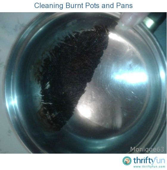 Best For Cleaning Burnt On Food In A Saucepan