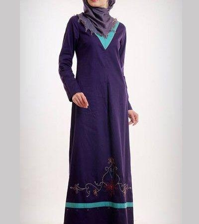 Baju Muslim Azka Gamis Let's Play 2 GSK 16 – Ungu Petunia [M]