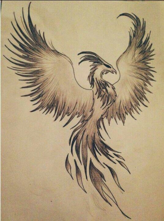 Neck tattoo tats i want pinterest tattoo phoenix for Phoenix neck tattoo
