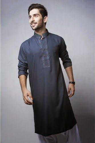 Shalwar Suits Designs Collection For Men 2014-2015