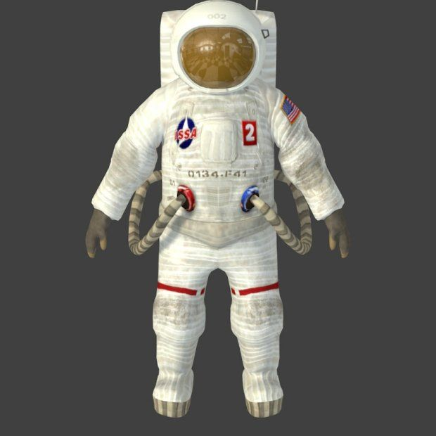 Astronaut 3d model free
