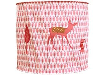 bosachtige hertjes lampenkap Taftan   kinderen-shop Kleine Zebra