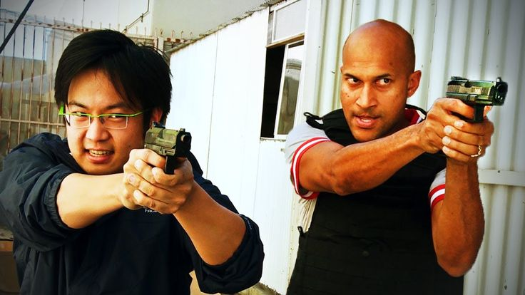 Mexican Standoff, A Comedy Sketch Full of Surprises Starring Freddie Wong and 'Key  Peele'
