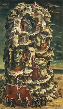Raquel Forner  The Tower of Babel
