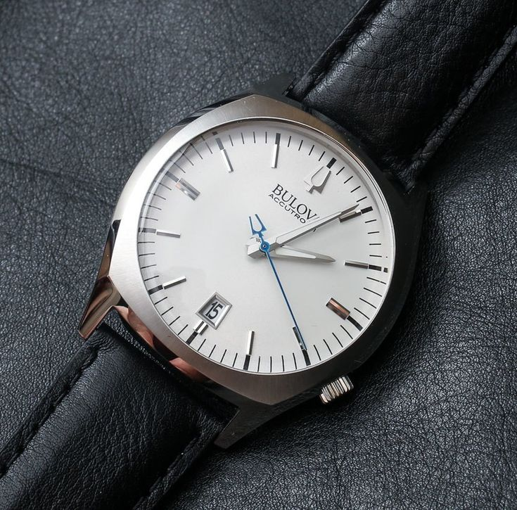 I love the simplicity of this watch <3 Bulova Accutron II Surveyor With Precisionist Movement Watch