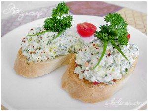 Тост с сырным кремом, рецепт с фото | Застолье-онлайн