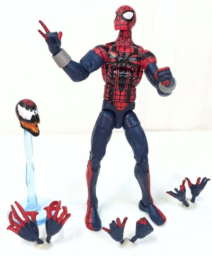 Marvel Legends BEN REILLY SPIDER-MAN Absorbing Man Series~Hasbro 2015~Complete