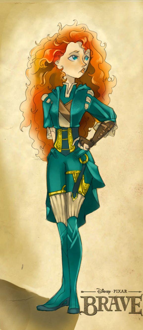 Princess Merida Costume redesign by ~Glory-Day on deviantART