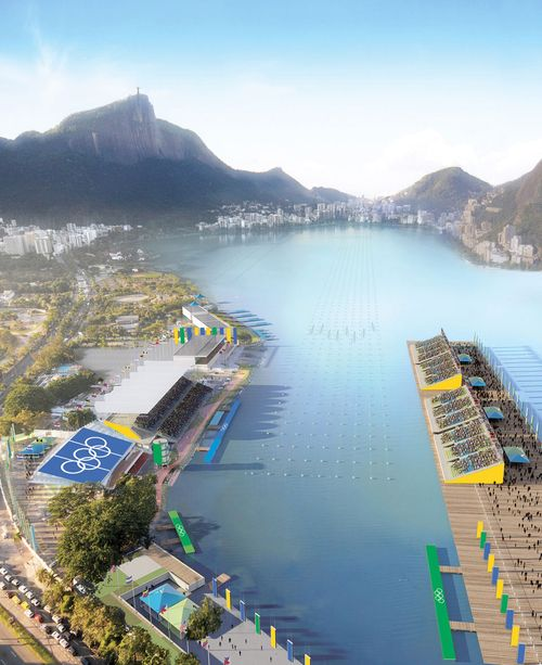 Rowing Course at Olympics at Rio 2016