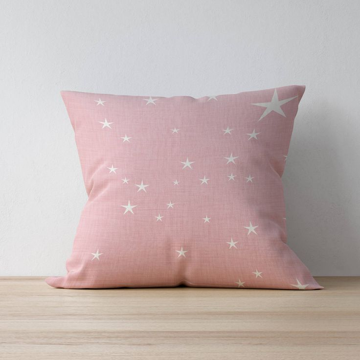 Excited to share the latest addition to my #etsy shop: Square Pillow, Decorative Pillow, Star pattern, Nursery Decor, Kids Pillow Cushion, Home decor, Bedroom Decor, Scandinavian pillow http://etsy.me/2GGkxn0 #housewares #pillow #pink #toddler #white #mothersday #baby