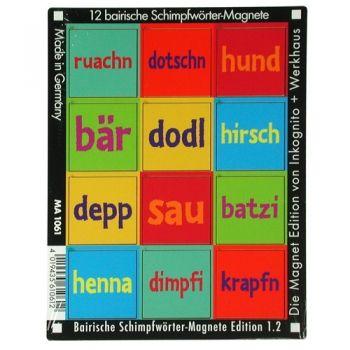 Werkhaus Shop - Bairische Schimpfwörter - Edition 1.2