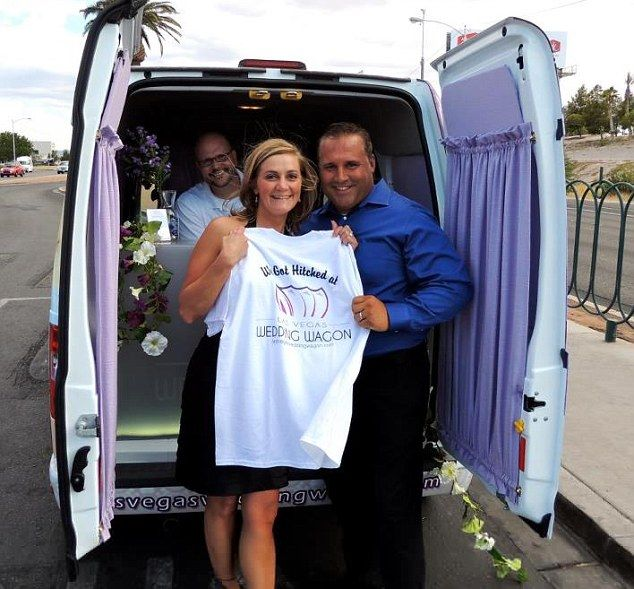 forget the little white wedding chapel las vegas mobile ministers offering sidewalk ceremonies with a free souvenir t shirt