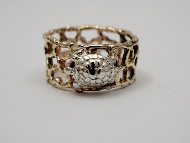 Coral Bay Collection Ring - Turtle