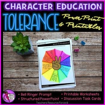 This Tolerance unit is a crucial element for strengthening the core curriculum and ensuring our students are taught how to be tolerant towards others so that they can not only learn to live harmoniously with others but so that our differences can be celebrated!