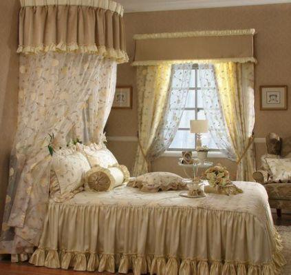shabby chic curtain ideas - Shabby