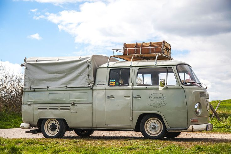 So wohnt der Norden: Auf Zeitreise mit Dagmar aus Husby - Förde Fräulein Shabby-Chic Vintage Antik Kreidefarbe Wohnen Interior VW-Bus nostalgisch