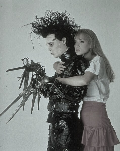 scissorhands: Johnny Depp, Winona Ryder, Edward Cullen, Edward Scissorhands, Tim Burton, Johnnydepp, Edwardscissorhands, True Stories, Timburton