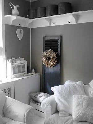 Galleria foto - Dipingere il soggiorno di grigio Foto 16