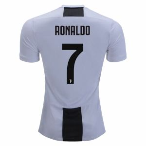 2018-19 Cheap Jersey Juventus Home Ronaldo Replica White Shirt  CFC368  6ccbf0ad8