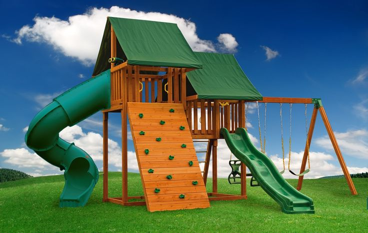 Multi-Deck Sky 1 | Swing Sets On Sale | Eastern Jungle Gym