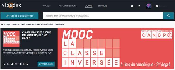 Sur le groupe @Viaeduc associé au #MOOC @reseau_canope sur la #classeinversée les demandes de projet arrivent... | FUN - France Université Numérique
