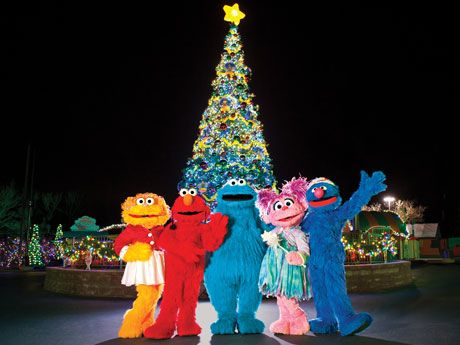 It's A Very Furry Christmas at Sesame Place®! Open select dates November 23 – December 31.  Join us for a one-of-a-kind family-friendly celebration with everyone's favorite furry friends. The fun starts with three special Christmas shows, dry rides (weather permitting), awesome music and twinkling lights all around. Our street will glow with festivities and come to life at night with our illuminated Neighborhood Street Party Christmas Parade. #FurryChristmas #sesameplace