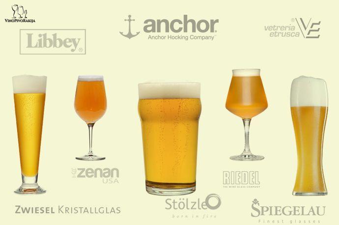 Čaše za pivo