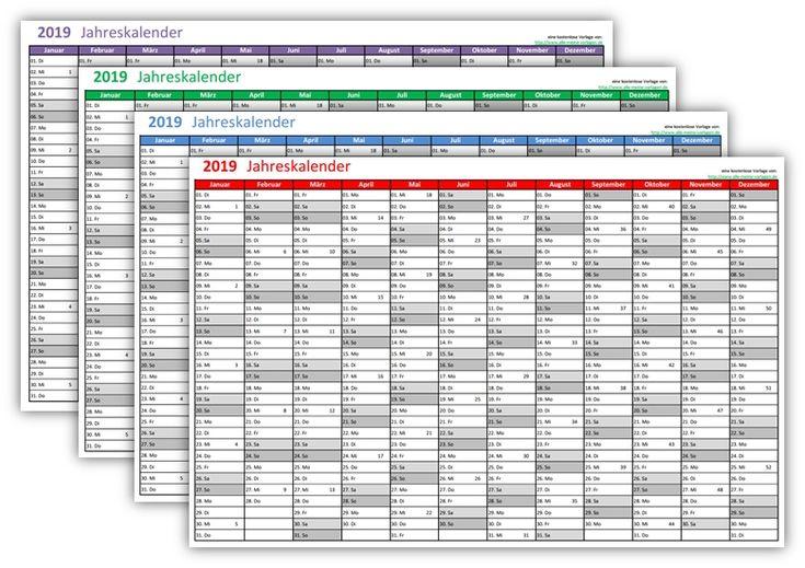 19 best Kalender, Kalendervorlagen, Jahreskalender, Wochenplaner ...