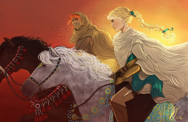 The Assassin and the Desert by evilienne. Ansel of Briarcliff and Celaena Sardothien. Sarah J Maas