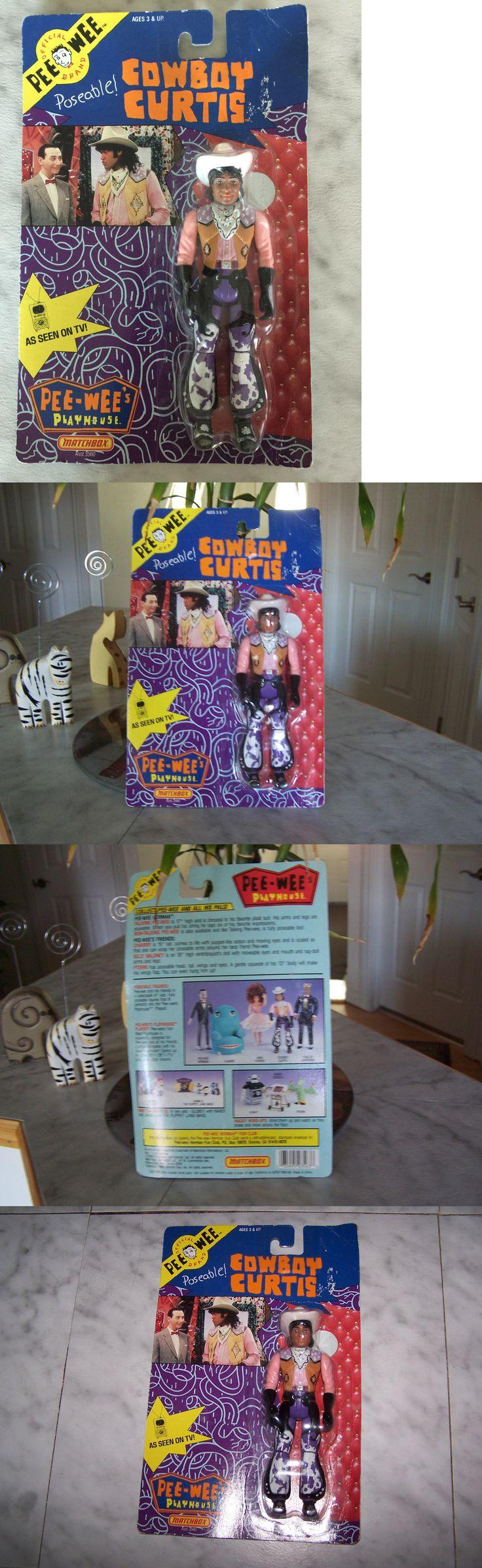 Pee-Wee Herman 20917: 1988 Pee Wee Playhouse Poseable Cowboy Curtis (New) -> BUY IT NOW ONLY: $32.67 on eBay!