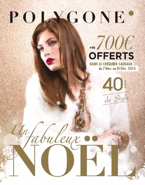 Le nouveau magazine de Noël du Polygone est arrivé !  Venez découvrir les tendances du moment dans votre centre commercial préféré !