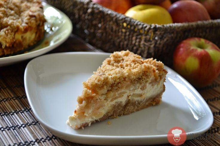 Fotorecept | Krémový koláč s jablkami
