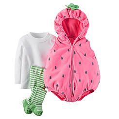 Carter's Newborn & Infant Girl's Strawberry Costume