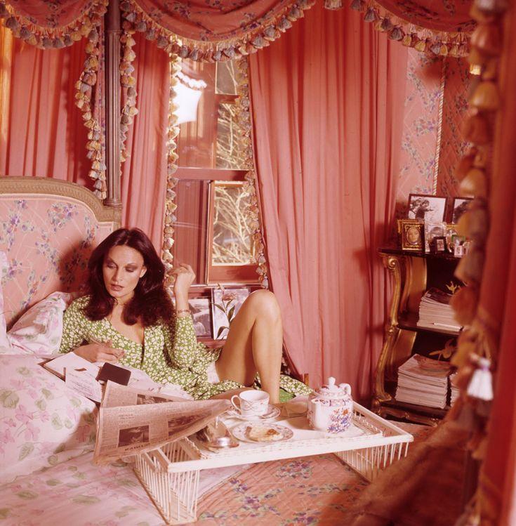 vintagefashionandbeauty: Diane von Furstenberg in Vogue, July 1976. (x)