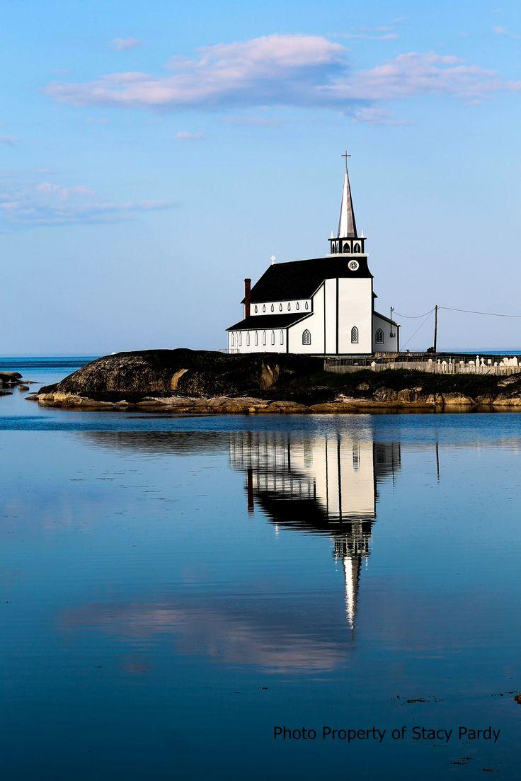 Terre-Neuve ✈ Anglican Church, Newtown, Newfoundland