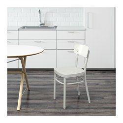 IKEA - IDOLF, Chaise, Le dossier galbé offre un grand confort d