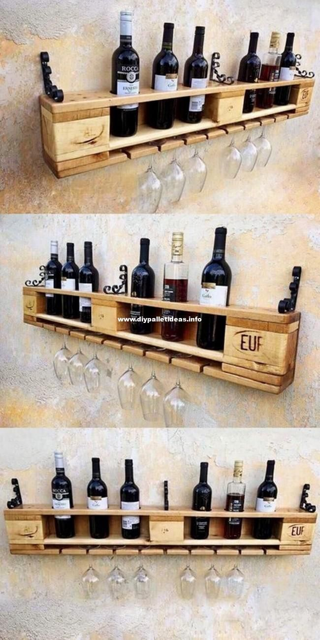 Cave À Vin Palette mind blowing diy pallet wood ideas and projects #blowing