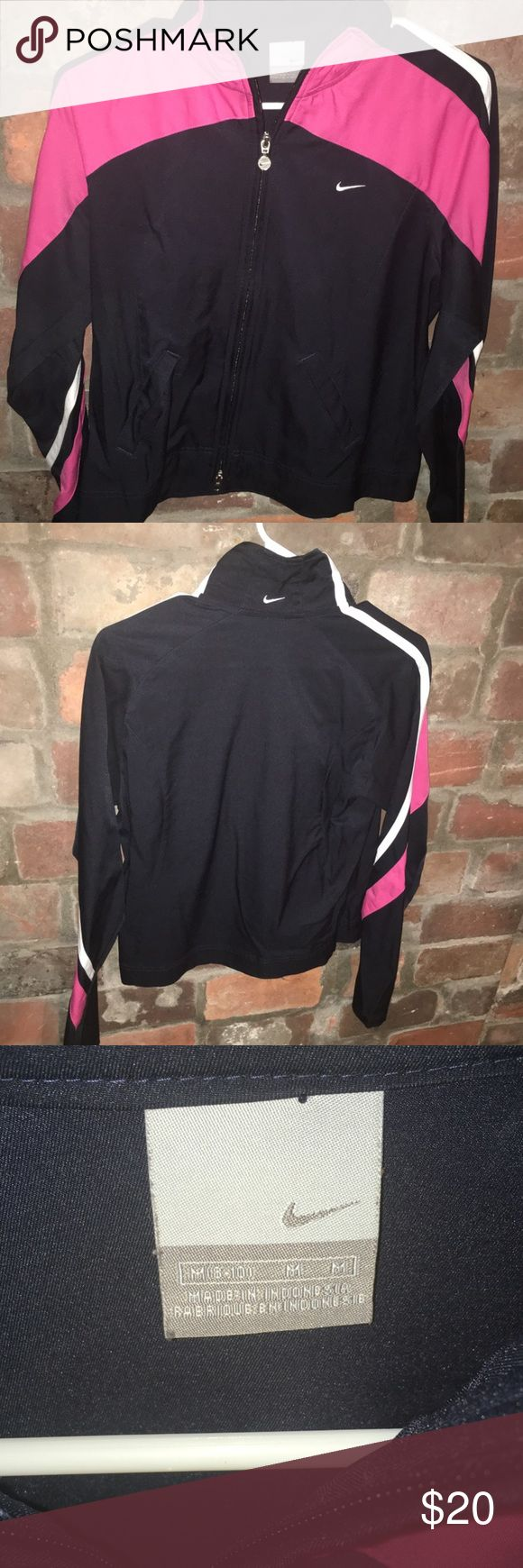 Women's Nike Windbreaker Women's Nike Windbreaker. Size Medium. No conditional issues. Very nice shape. Clean! Nike Jackets & Coats