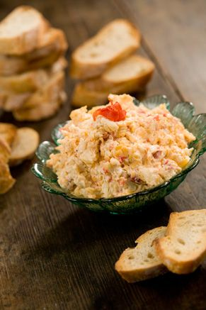 This is Paula Deen's son, Bobby's, Pimento Cheese Recipe.  So YUMMY and EASY to make!  I'll never buy store bought again.