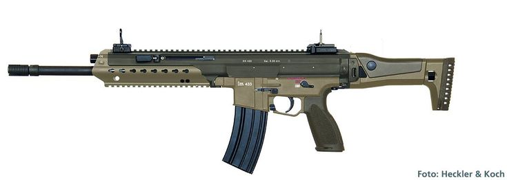The new German Assault Rifle from Heckler and Koch HK433 [1181x421]