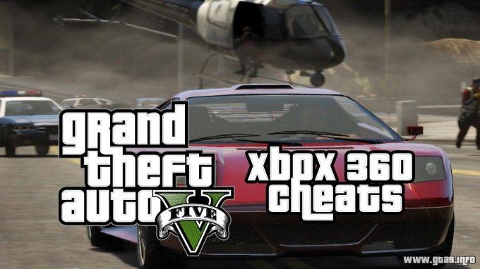 Gta 5 Cheats For Xbox 360 Grand Theft Auto V Cheat Codes