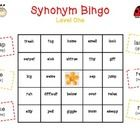 Yay! Let's play Bingo!  Synonym Bingo makes teaching/reviewing beginning synonyms FUN for students! What's unique about this Bingo set, is that the...