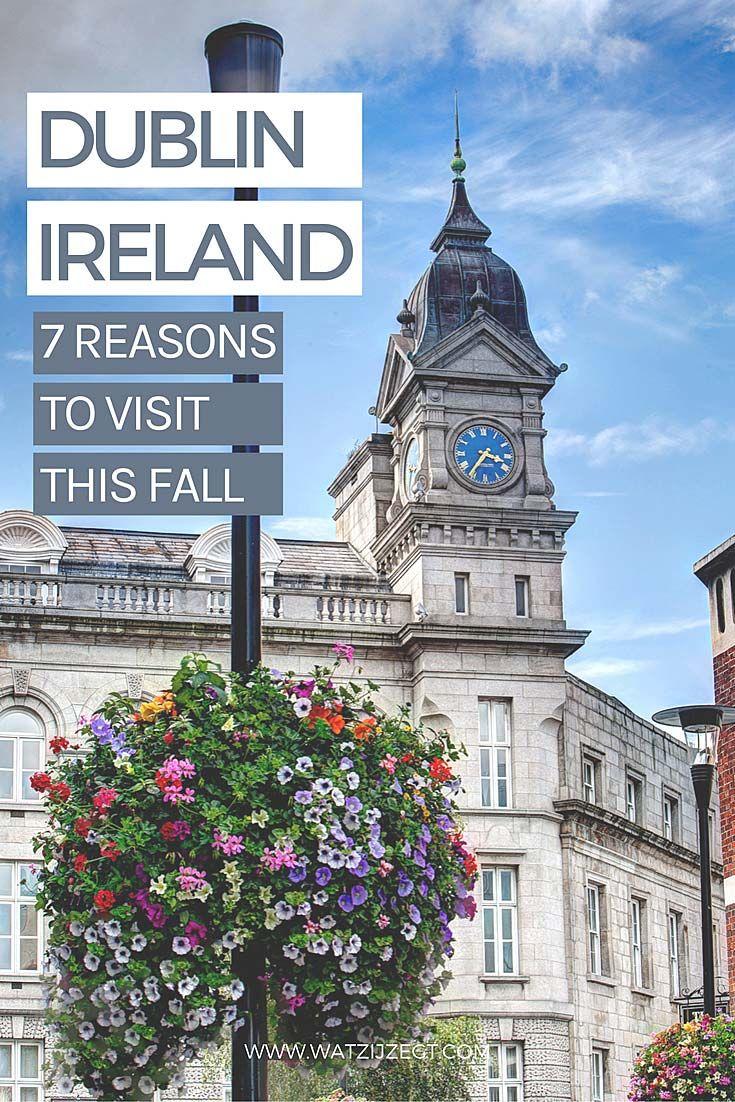 7 reasons to visit Dublin this fall // 7 redenen om Dublin dit najaar nog te bezoeken